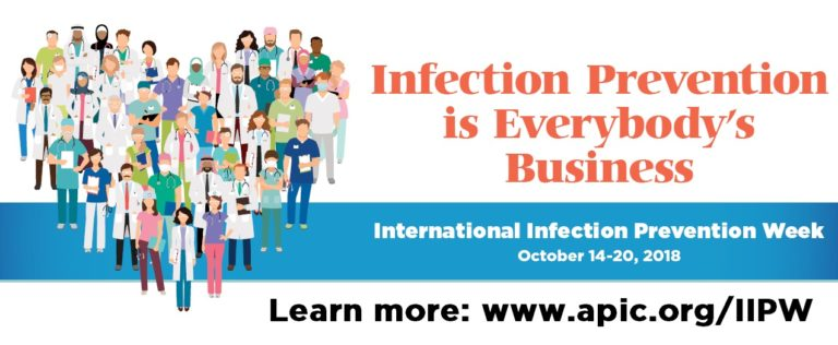 International Infection Prevention Week (IIPW) October 14-20