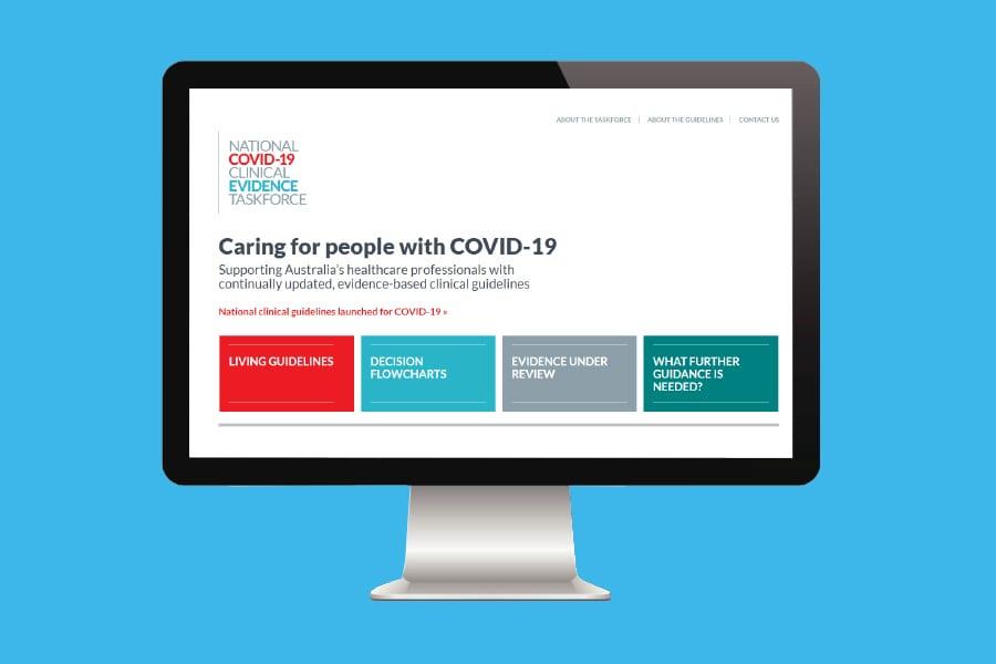 National COVID-19 Clinical Evidence Taskforce